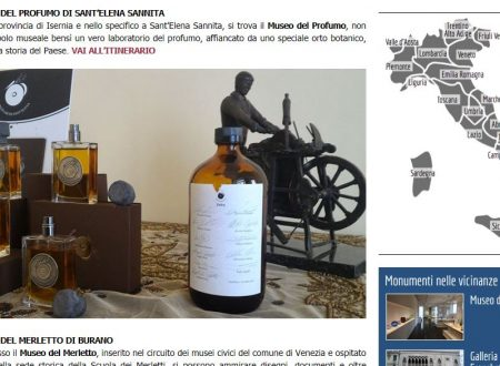 Il Museo del Profumo nella Top 5 italiana