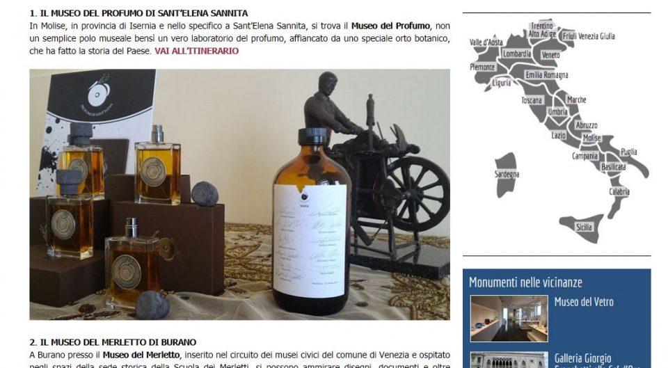 Museo del profumo su turismo it